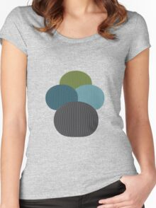 Homer cactus Women's Fitted Scoop T-Shirt