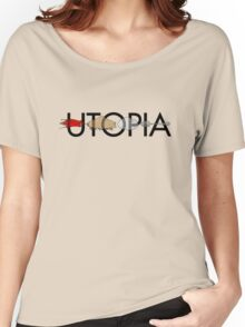 Utopia - Utopia title Women's Relaxed Fit T-Shirt