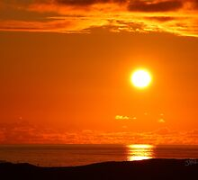 Sunset from Colonsay by Jonathan Cox