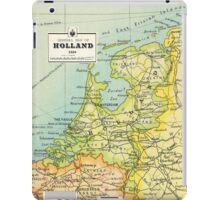 Vintage Holland map - Netherlands map - birthday gift - wedding gift iPad Case/Skin