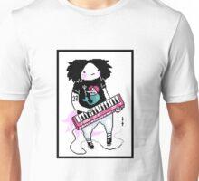 keyboard person Unisex T-Shirt