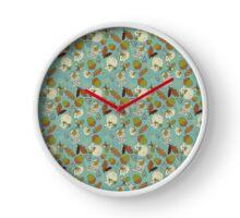 Autumn Mouse large Clock