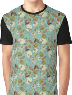 Autumn Mouse large Graphic T-Shirt
