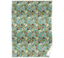 Autumn Mouse large Poster