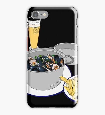 Mussels from Brussels  iPhone Case/Skin
