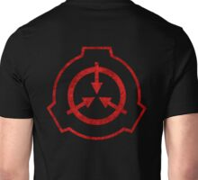 SCP foundation symbol red  Unisex T-Shirt