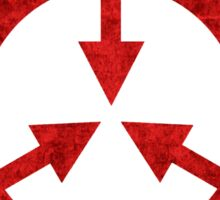 SCP foundation symbol red  Sticker