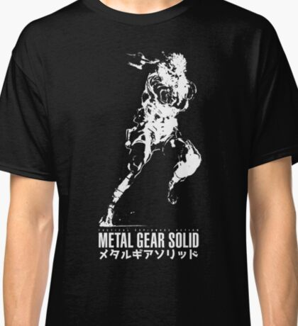 Metal Gear Solid - Snake Classic T-Shirt