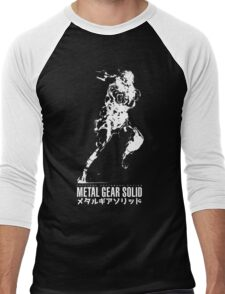 Metal Gear Solid - Snake Men's Baseball ¾ T-Shirt