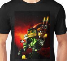 ratchet clank kuning Unisex T-Shirt