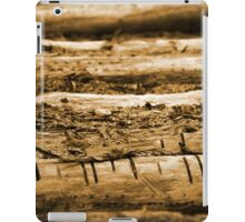 Natural Wood Pattern Forest iPad Case/Skin