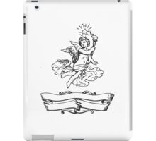 Vintage Label with Angel iPad Case/Skin