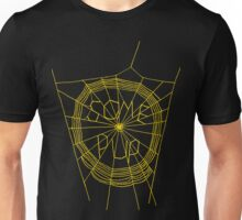 Some Pup-Yellow Web Unisex T-Shirt
