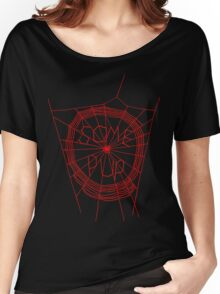 Some Pup-Red Red Women's Relaxed Fit T-Shirt