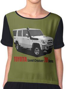 TOYOTA Land Cruiser 70 Series HZJ76 Chiffon Top