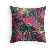 Busy Tropical Design Throw Pillow