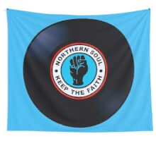 Northern Soul Vinyl Record Wall Tapestry