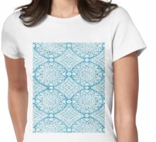 Frozen Lace  Womens Fitted T-Shirt