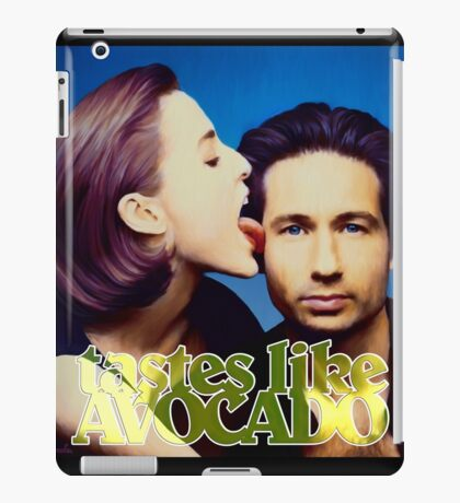 David tastes like avocado iPad Case/Skin