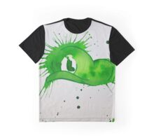 Mario Luigi Watercolor Splash Hat Abstract Artwork Graphic T-Shirt
