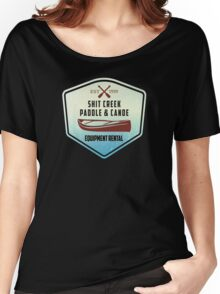 Paddle & Canoe Equipment Rental Women's Relaxed Fit T-Shirt