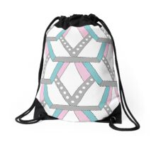 Verspieltes Pattern  Drawstring Bag