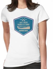 Paddle & Canoe Equipment Rental Womens Fitted T-Shirt