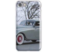 1933 Pierce-Arrow Silver Arrow Sedan iPhone Case/Skin