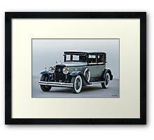 1929 Cadillac 341B Town Sedan Framed Print
