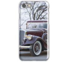 1933 Pierce-Arrow 1236 Sedan iPhone Case/Skin