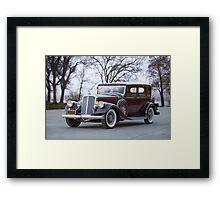 1933 Pierce-Arrow 1236 Sedan Framed Print