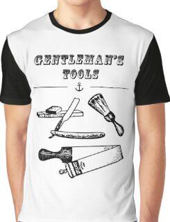 a Hipster vintage barber gentleman Graphic T-Shirt