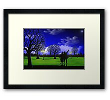 A Grand Night Out Framed Print
