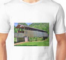 Claycolmb Covered Bridge Unisex T-Shirt