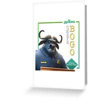 Chief Bogo 1 Greeting Card