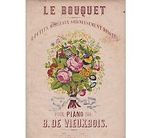 Le Bouquet Photographic Print