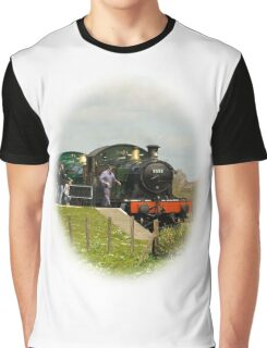 Steam Train T-shirt, just the present for Father's Day Graphic T-Shirt