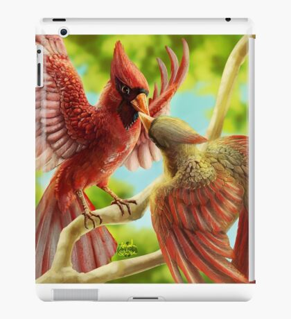 Time for Cardinals iPad Case/Skin