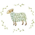 The green sheep. by Tinly