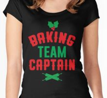 Baking Team Captain Women's Fitted Scoop T-Shirt
