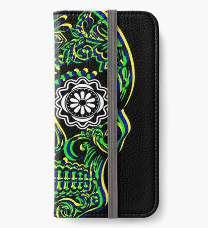 Sugar Skull - Calavera iPhone Wallet/Case/Skin
