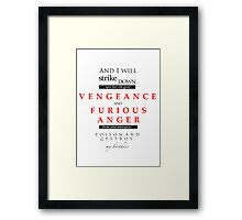 Pulp Fiction by Quote Framed Print