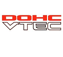 VTEC DOHC Sticker for Honda by fadouli