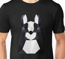 3D japanese origami Dog Unisex T-Shirt