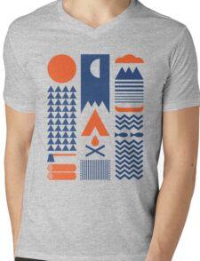 Simplify Mens V-Neck T-Shirt
