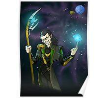 Cosmic Cube - Loki Poster