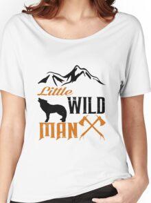 Little Wild Man  Women's Relaxed Fit T-Shirt