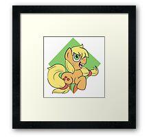 My Little Pony Applejack Framed Print