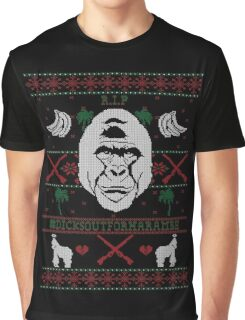 Harambe Ugly Christmas Sweater Graphic T-Shirt
