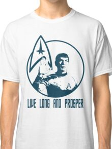 Mr Spock - Live Long & Prosper Classic T-Shirt